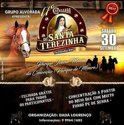 CAVALGADA DE SANTA TERESINHA 2017