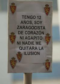 Zaragoza SÍ Agapito NO