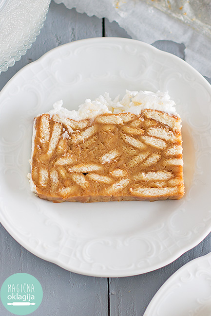 Keks karamel torta, poznata i kao bebi torta / magicnaoklagija.blogspot.com