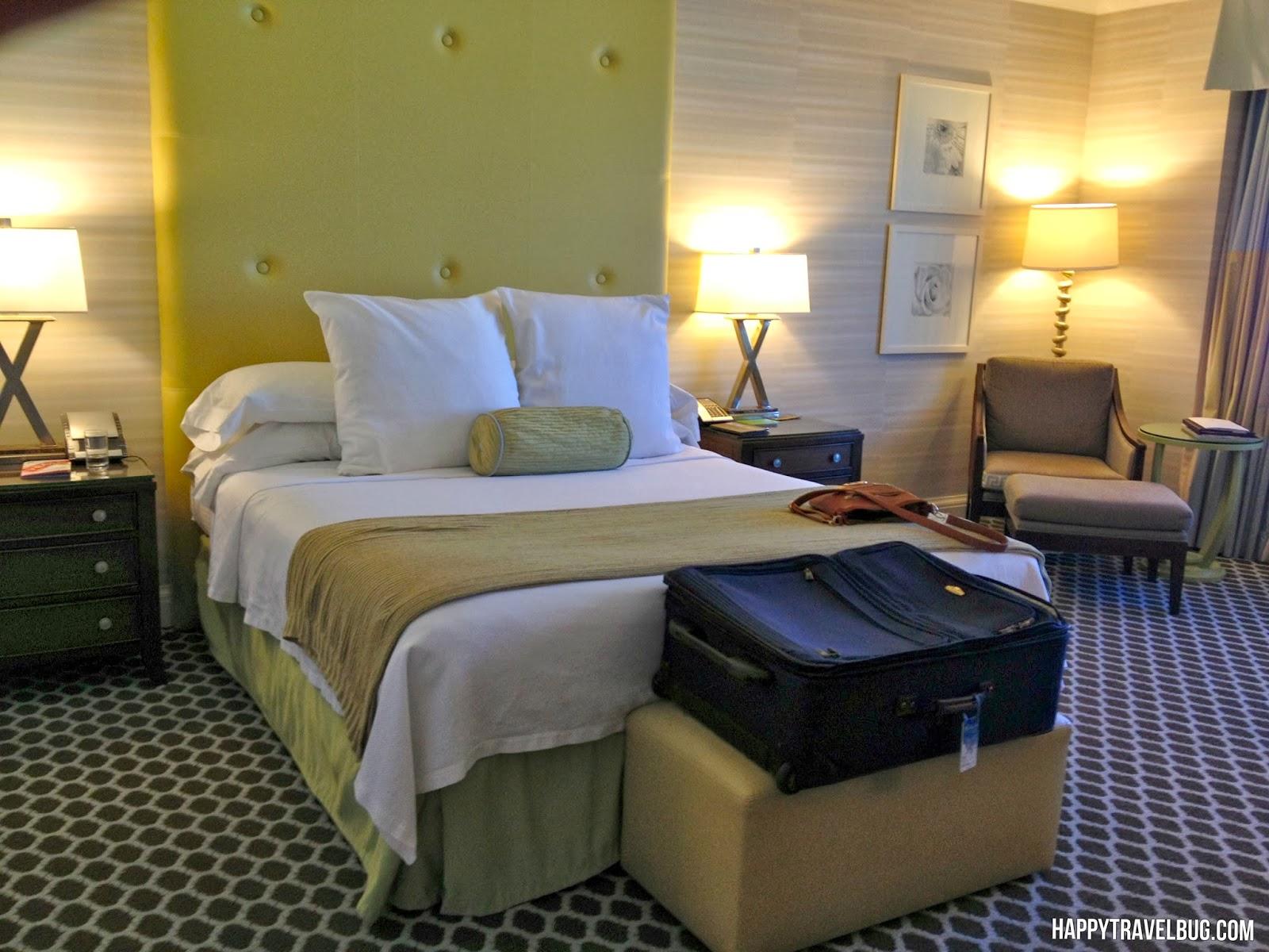 Caesar's Palace hotel room