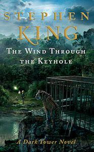 Portada original de El viento por la cerradura, de Stephen King