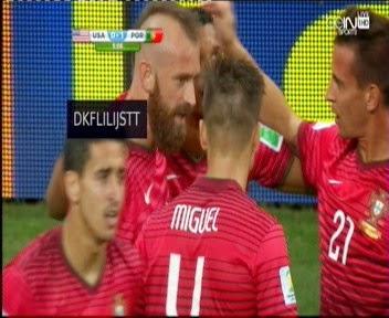 شاهد هدف البرتغال فى امريكا
