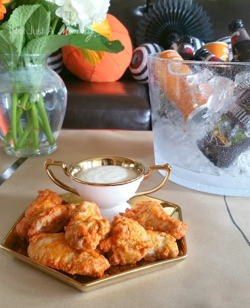 March Madness Basketball Party chicken wings