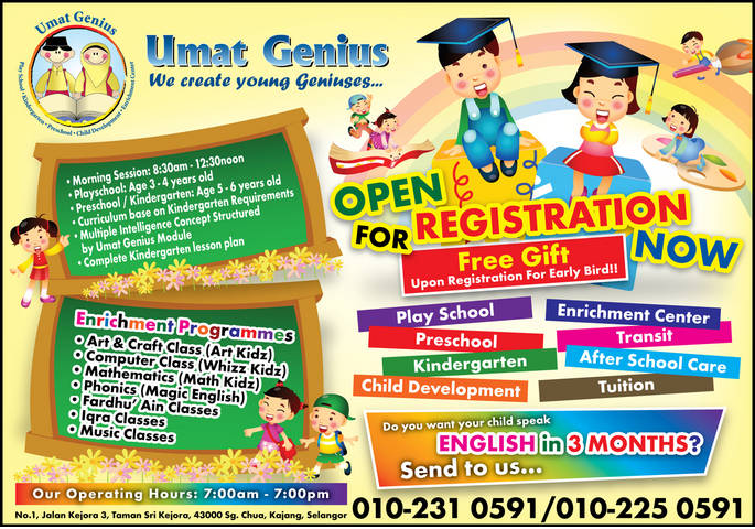 Ummat Genius Enrichment Centre Open Day