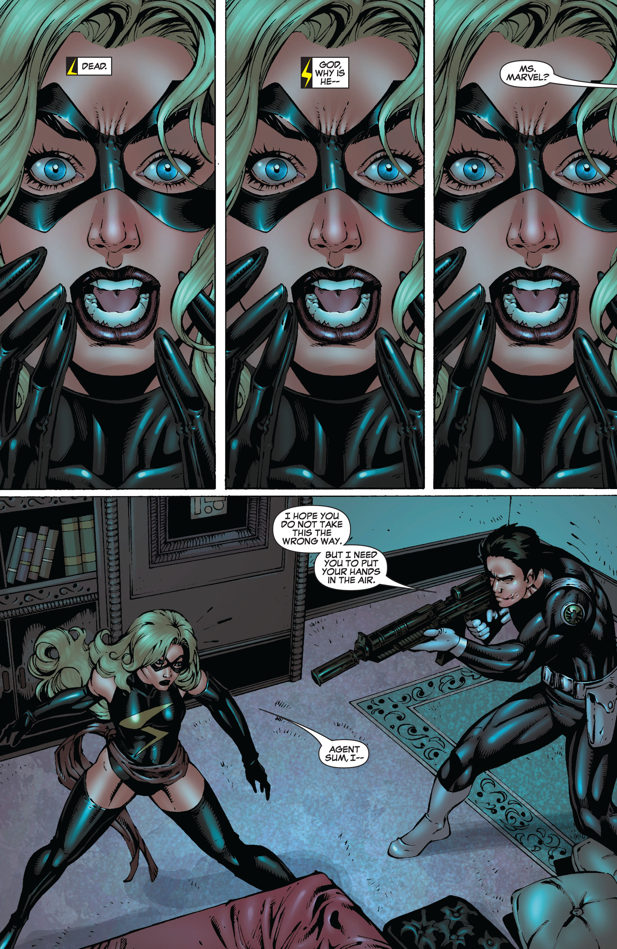 Read online Secret Invasion: The Infiltration comic -  Issue #8 - 32