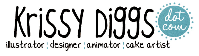 Krissy Diggs | Illustrator | Designer | Cake Artist
