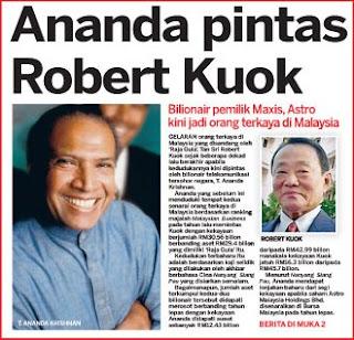 Senarai Orang Kaya Malaysia 2013,T. Ananda Krishnan,Robert Kuok, Ananda Krishna, Ananda Pintas Robert Kuok,3SENARAI ORANG TERKAYA DI MALAYSIA 2013 ,TAN SRI T.ANANDA KRISHNAN ORANG TERKAYA MALAYSIA 2013, SENARAI ORANG TERKAYA DI MALAYSIA 2013,Tan Sri Ananda orang Terkaya Malaysia 2013