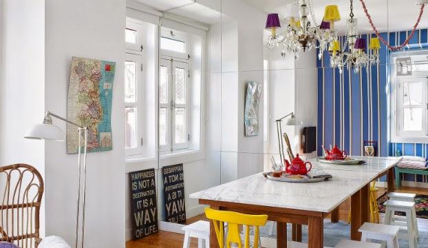 contoh denah rumah dan tata ruang interior rumah minimalis