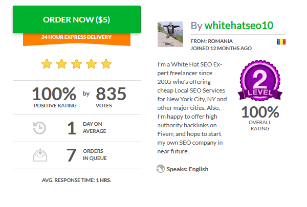 800+ Happy Customers - after one year of hard SEO work