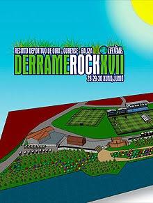 Cambios en el Derrame Rock 2012 en Orense
