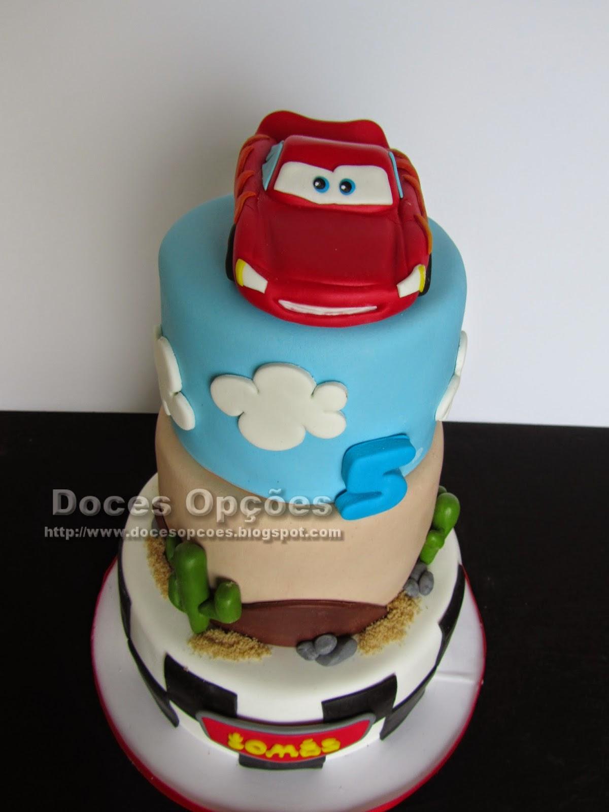cars cake design