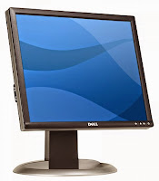 Monitor 17 inch LCD DELL 1704FP
