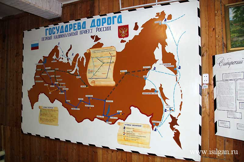 Музей истории Сибирского тракта. Село Дебёсы. Республика Удмуртия