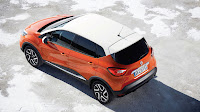 Renault Captur Crossover side top