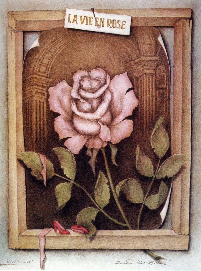 'La vie en rose' by Sandro del Prete