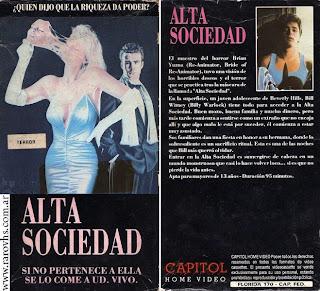 society brian yuzna vhs 1989