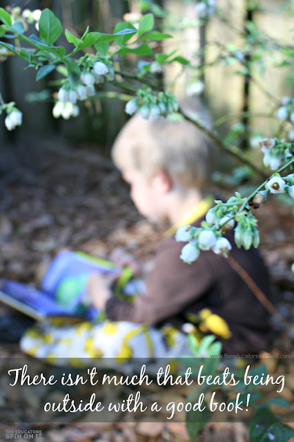 There isn't much that beats being outside with a good book quote. Best tips from a reading teacher and mom on how to get and keep kids excited about reading all summer long.