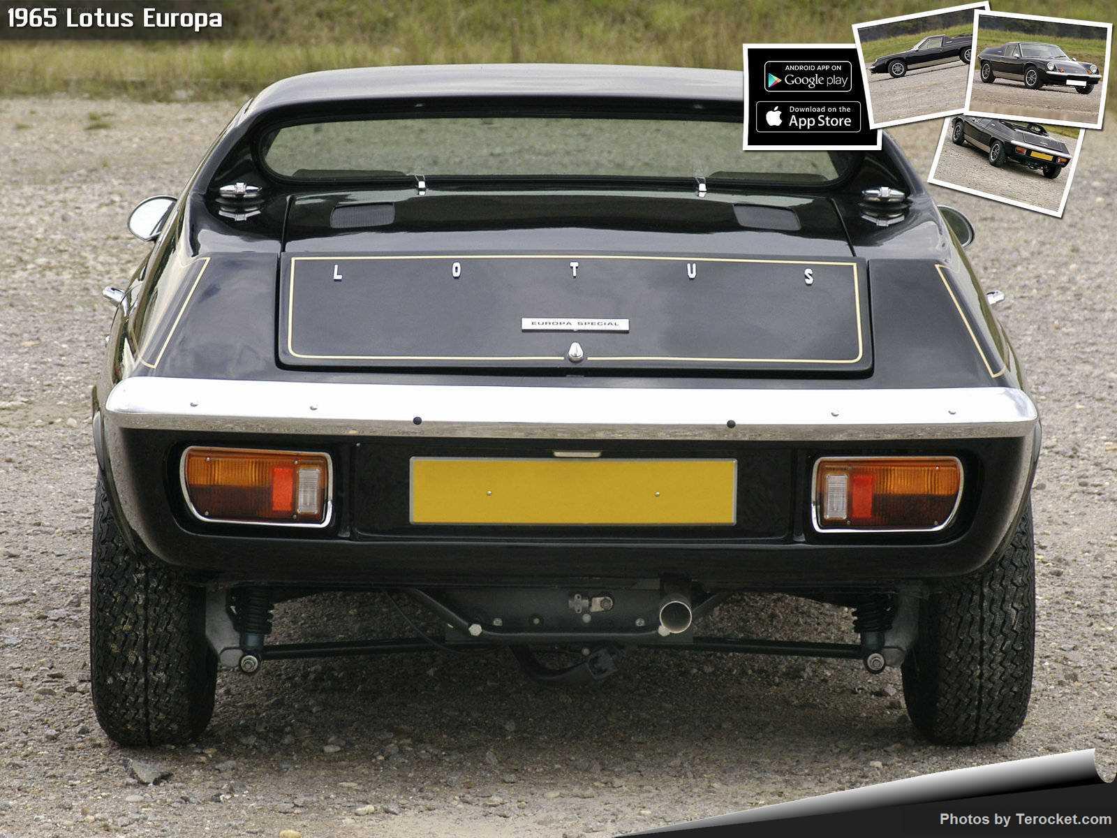 Hình ảnh siêu xe Lotus Europa 1965 & nội ngoại thất