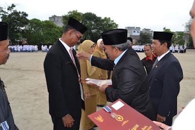 15 ASN Kemenag Tanjung Balai Menerima Satyalancana