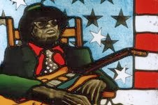Stained-glass John Lee Hooker
