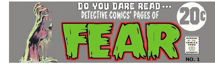 Detective Comics' Pages of Fear