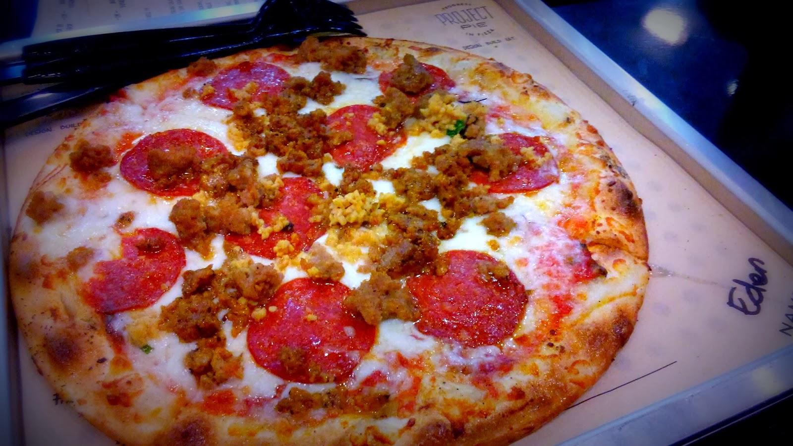 Project Pie Custom Pizza
