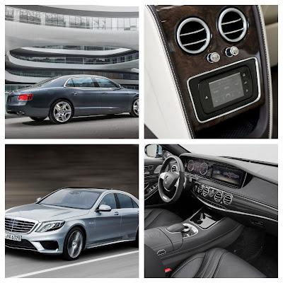 Mercedes New S-Class vs. Bentley Flying Spur