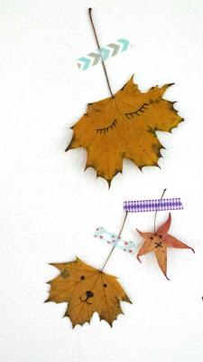 ondeugendespruit herfst DIY bladeren blaadjes