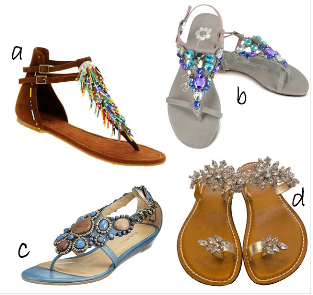 Style-Delights: Flat Sandals For Summer
