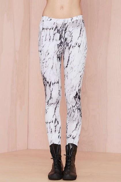 Fashion Trend - Marbles Scuba Leggings