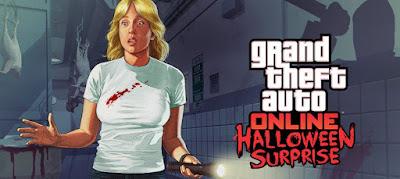 GTA Online сюрприз на Хеллоуин