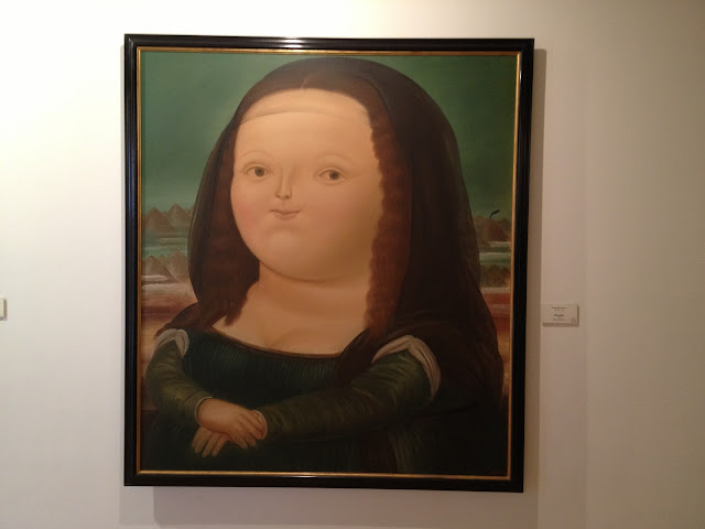 Botero&#180;s fat Mona Lisa