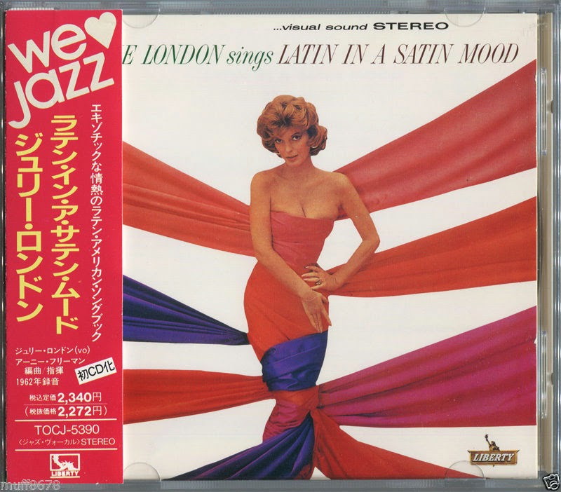 JULIE LONDON LATIN IN A SATIN MOOD ORIGINAL JAPAN CD TOCJ-5390