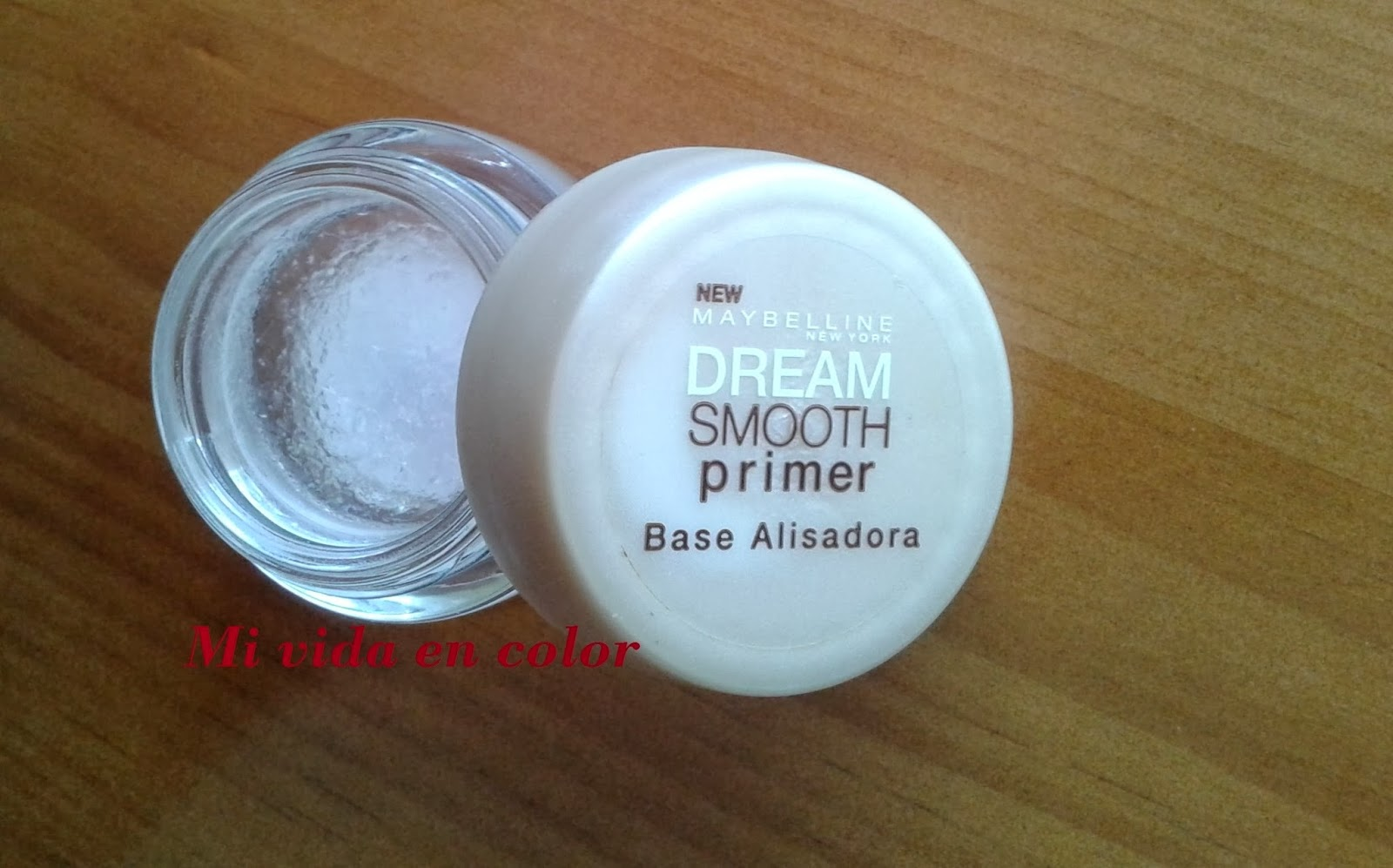 Maybelline Dream Sooth primer. Base alisadora