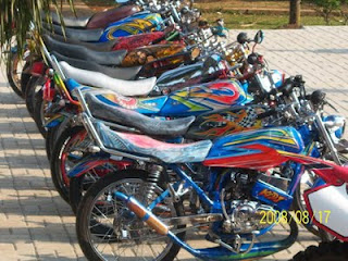 wallpaper Modifikasi motor RX King