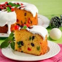 Resep Spesial Cake Jeruk Buah Campur