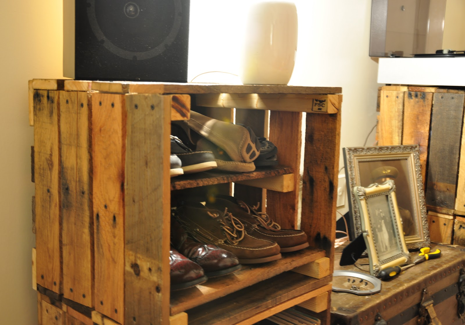 Extremely Ideas Record Player Storage. I Began This Project With An Idea Of  Creating My