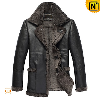 Men Sheepskin Coat uk