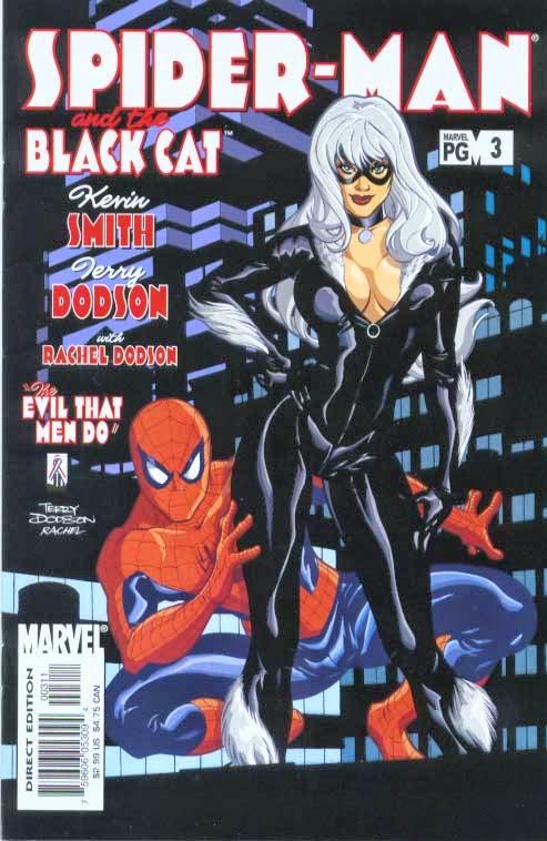 Homem-Aranha e Gata Negra - O mal nos corações dos Homens #3