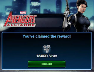 Marvel Avengers Alliance Free Silver after claim