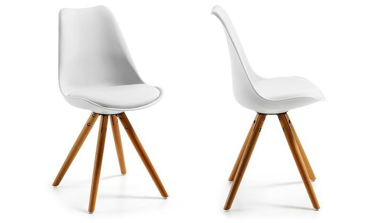 Silla comedor 484 lr muebles como imaginas - Chaise coque blanche ...
