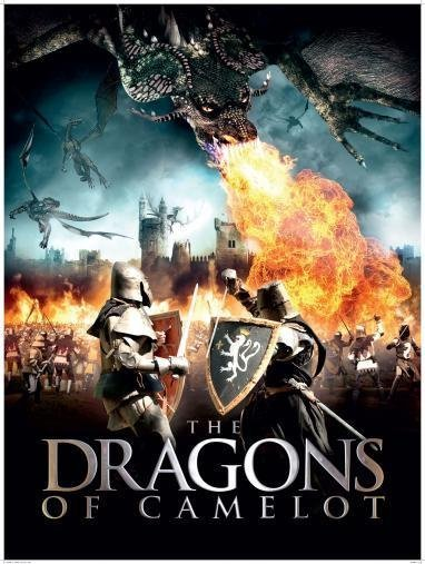 Poster of The Dragons Of Camelot 2014 720p BluRay Dual Audio