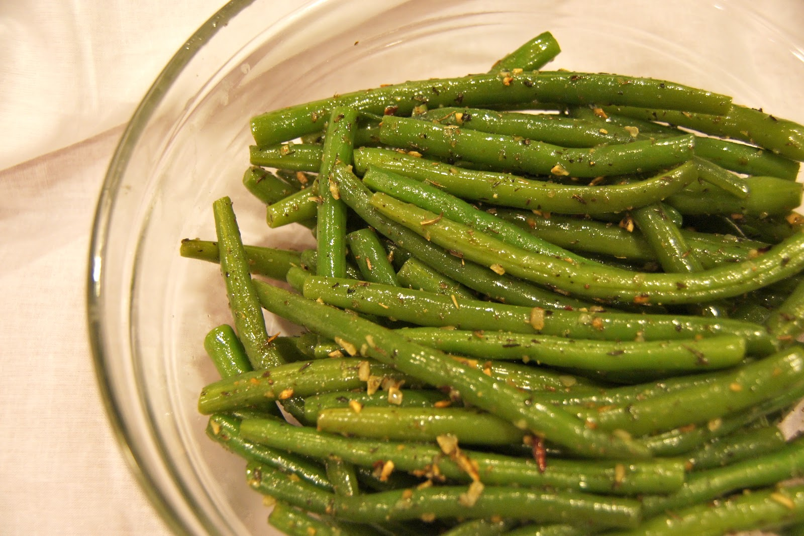 Family food finds easy italian green beans for Green italy