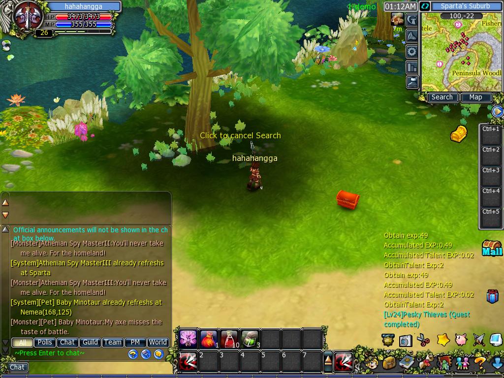 Angga Priandika: Game RPG di facebook