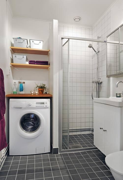 Decoracion Baño Facilisimo:En estos estantes, puedes almacenar productos de limpieza, jabón