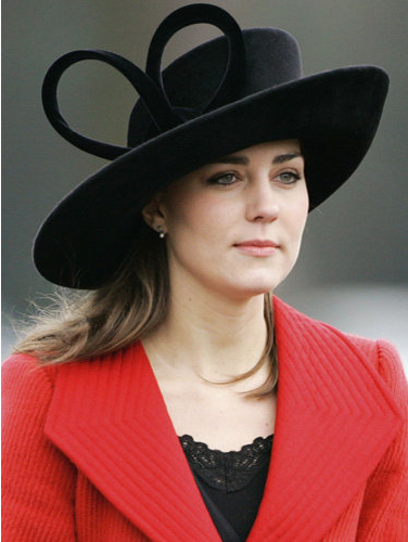kate middleton younger. Kate Middleton attended the