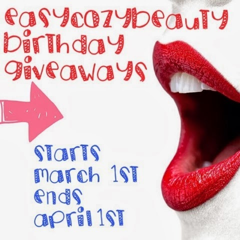 http://easycozybeauty.blogspot.com/2014/02/my-1st-birthday-giveaways.html