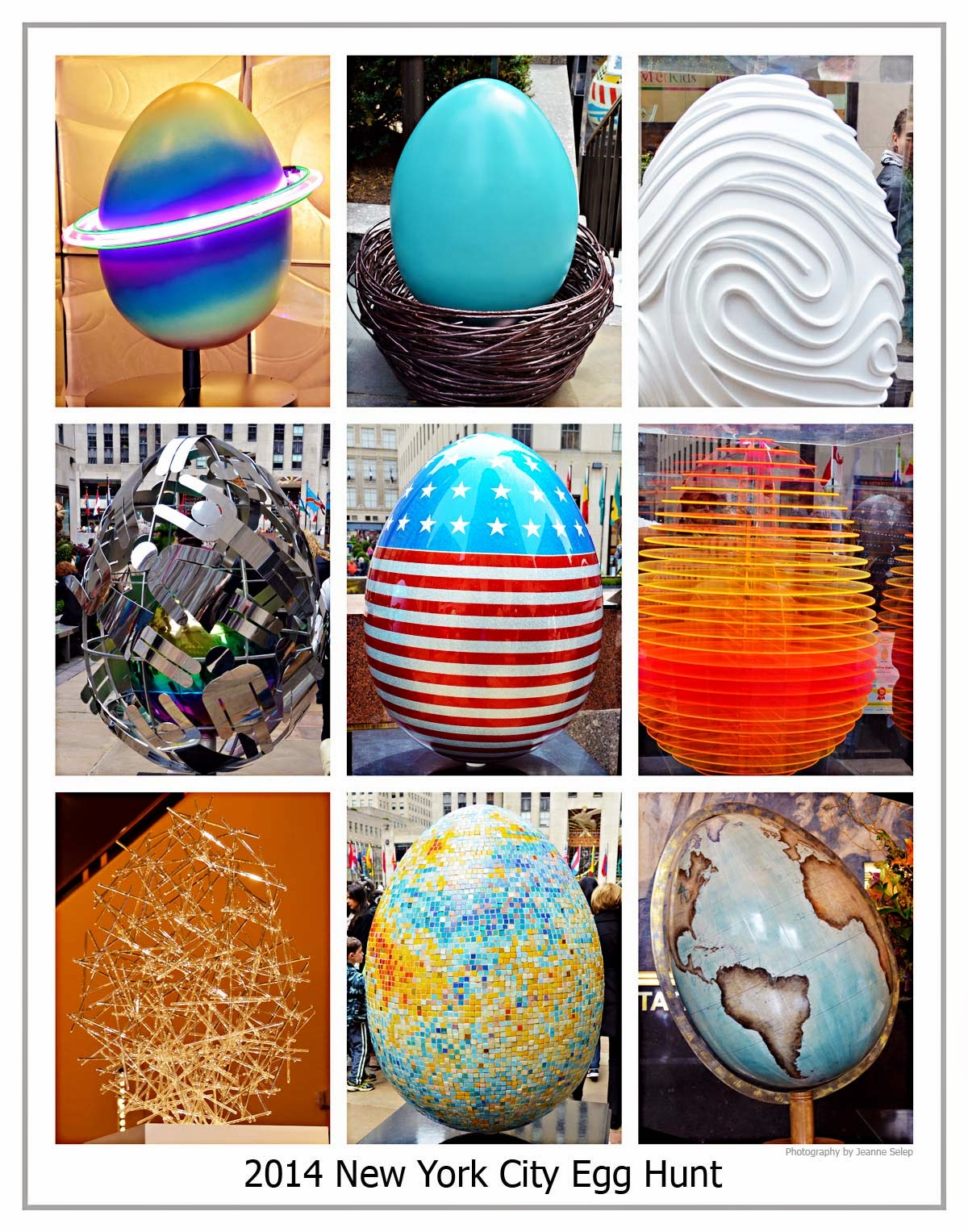 2014 Faberge New York City NYC Easter Egg Hunt