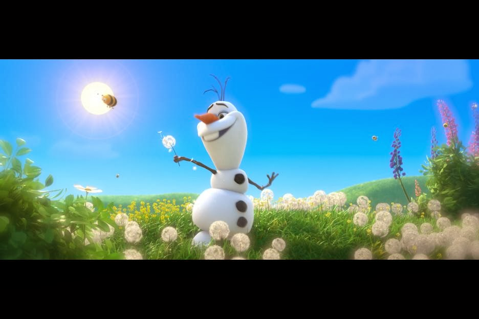 Olaf Happy Snowman Gif Olaf's song was by far the
