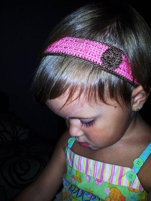Turbante de crochet para niñas